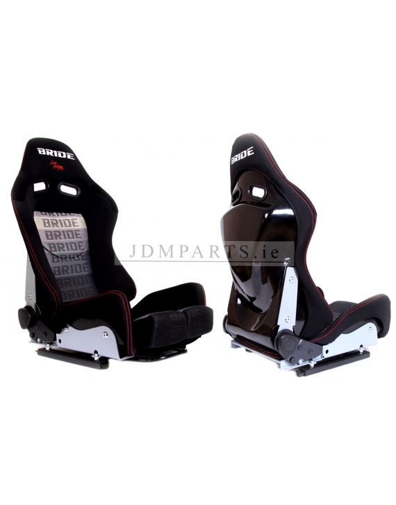 Bucket seat  BRIDE LOW MAX II K608 BLACK/GREY