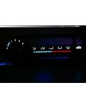 LED INDIGLO Honda CRX Del Sol  - heater panel
