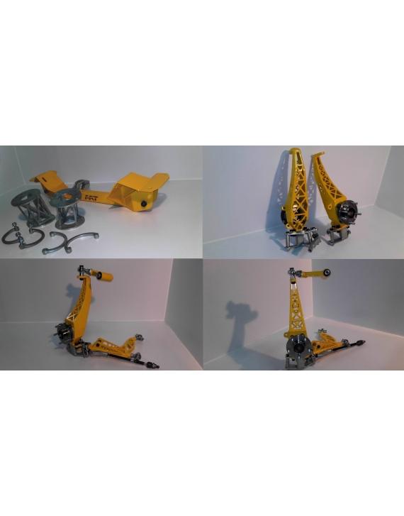 Lock Kit for Nissan Skyline R32 GTS 71 degrees  ackermann adjustment set. DRIFT KIT