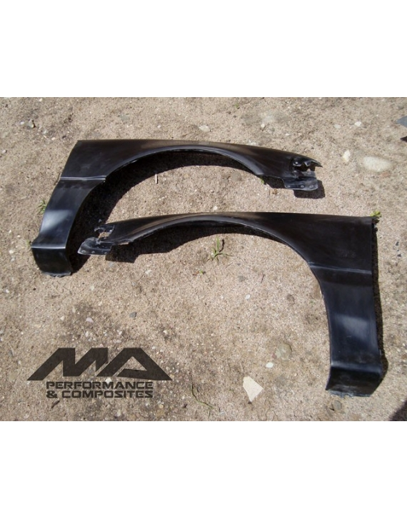 FIBREGLASS  front WINGS FENDERS CIVIC 4g HB   88-89 90-91 88-91