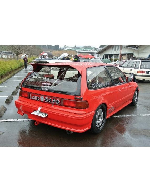 FIBREGLASS Osaka WING civic 4g HB  88-89 90-91 88-91