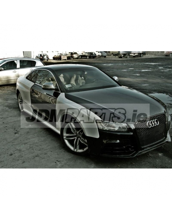 Audi S5 rear wings / fenders  RS5 style quarter panels / +50mm side