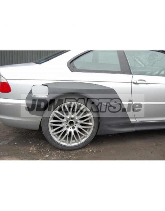 BMW e46 rear overfenders WIDEBODY V2 COUPE M3