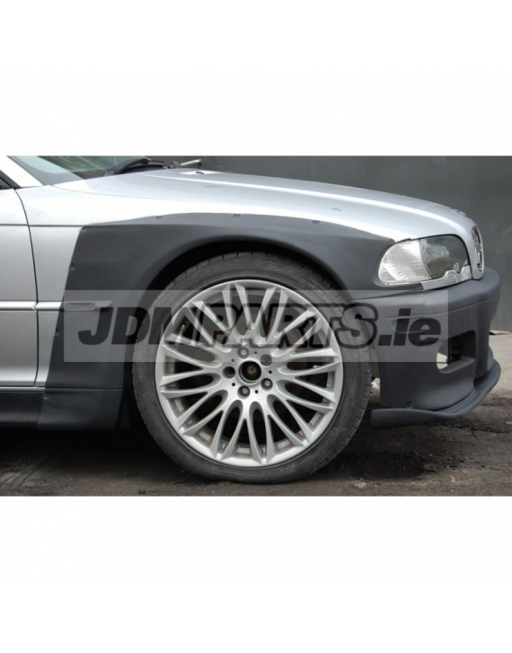 BMW e46 front overfenders WIDEBODY V2 COUPE M3