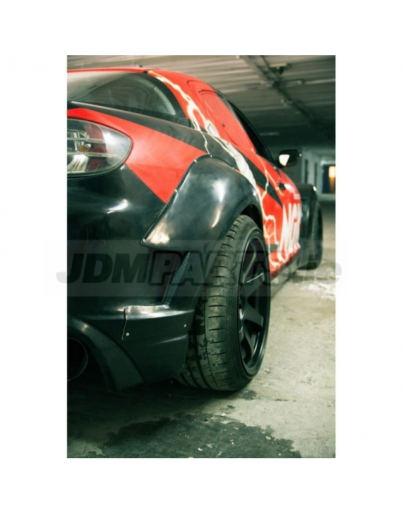MAZDA RX8 rear overfenders WIDEBODY +60mm