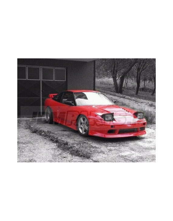 Nissan s13 front bumper Vertex  FRP