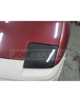 Nissan S13 Head Lamp Cover carbon