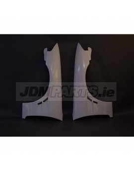 Nissan Skyline 33 front fenders with air-intake FRP