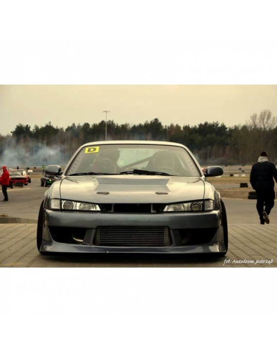 Nissan S14 s14a front bumper BN +25 mm / side