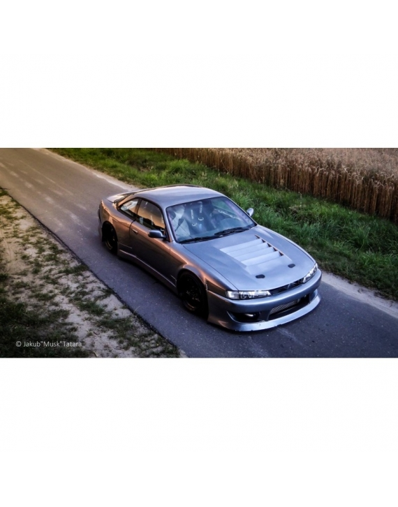 Nissan S14 s14a front fenders BN +25mm