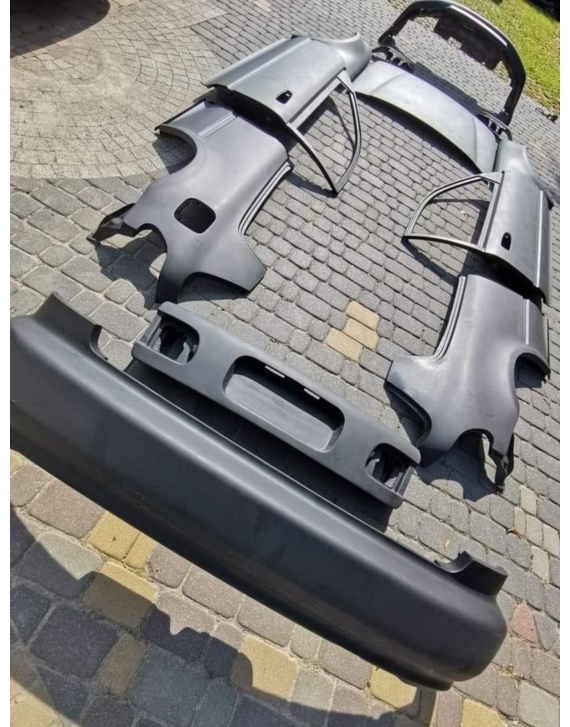 FIBREGLASS  CIVIC 92-95 FRP REAR QUARTER PANELS LEFT RIGHT